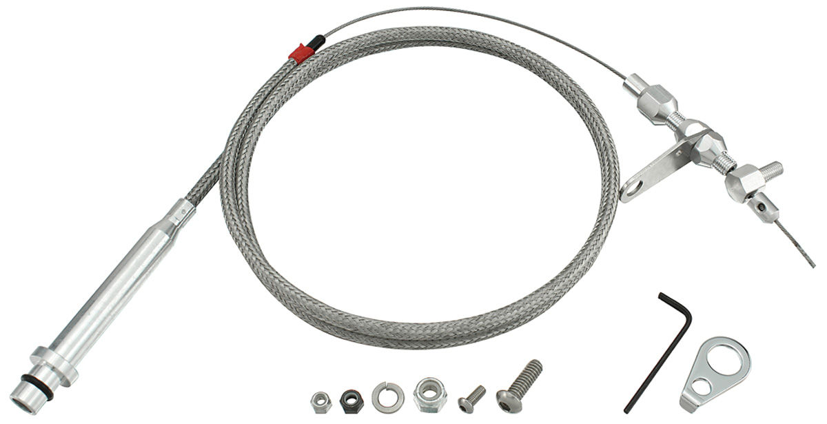 1978-1988 El Camino Kickdown Cable, Braided Stainless