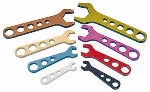 AN Fitting Wrench 8-Piece Set (#3, #4, #6, #8, #10, #12, #16, #20)