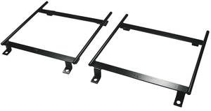 1964-67 Cutlass Seat Mounting Brackets, Custom w/oE Buckets