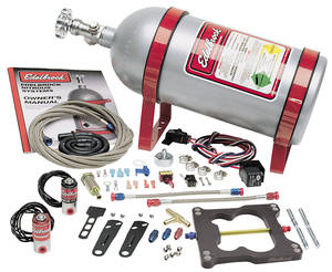 1964-1977 Chevelle Performer Nitrous System Spread-Bore Carb, by Edelbrock