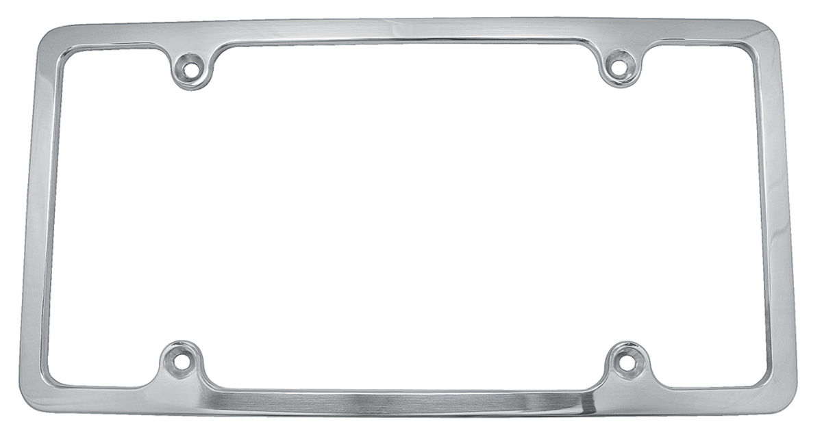 Photo of License Plate Frame, Billet Aluminum plain, polished