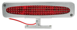 1962-1977 Grand Prix Third Brake Light Brushed