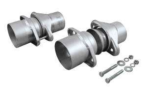 "1961-72 Skylark Header Collector Ball Flange Kit 3-1/2"""" Collector, 3"" Exhaust, by FLOWMASTER"