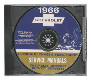 1966 El Camino CD-ROM Factory Shop Manuals