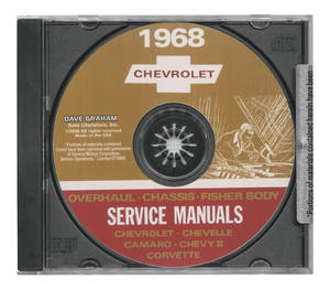 1968 Chevelle CD-ROM Factory Shop Manuals