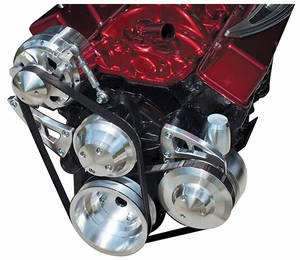 1978-88 El Camino Serpentine Conversion Sets, Long Pump Small-Block Performance (Increases Horsepower) w/Keyway