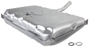 1970 Monte Carlo Fuel Tank (Galvanized) without Vents, 20-Gallon