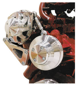 1978-88 Malibu Alternator Bracket Set, Small-Block Long Water Pump, by March Performance