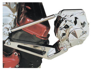 1964-68 Chevelle Alternator Bracket Sets, Big-Block Short Water Pump, by March Performance