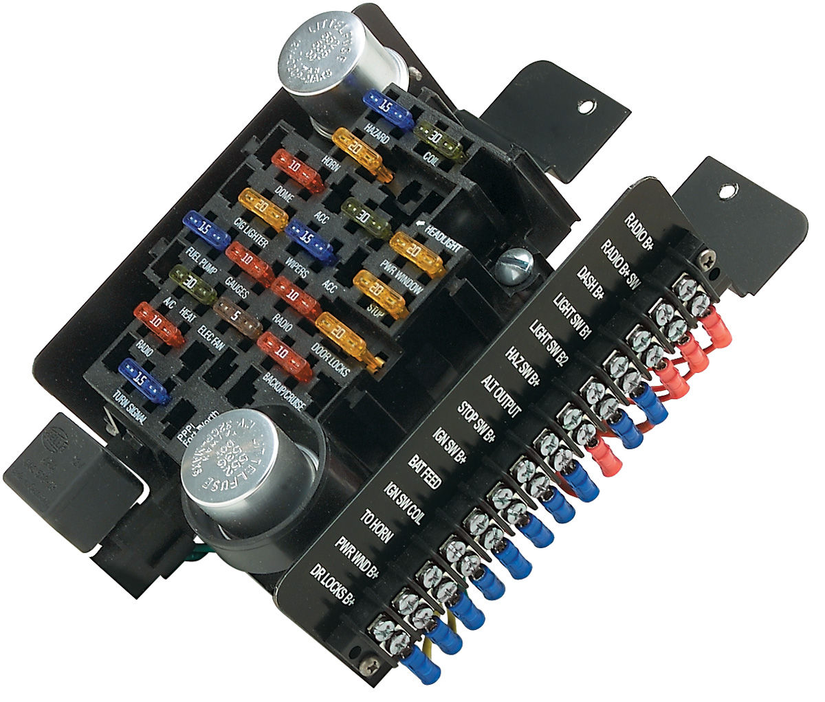 1964 lincoln fuse box wiring diagram 1950 Lincoln 1964 lemans fuse box data wiring diagram schematicpainless performance 1961 1972 lemans circuit fuse block 20