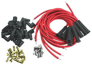 1954-81 Eldorado Spark Plug Wires, Race Quality (90°/Straight)