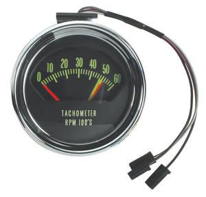 El Camino Tachometer, 1966 Original Style 6000 Rpm w/5200 Redline (325hp)