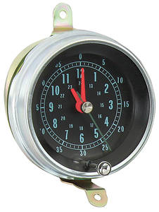 1966-67 Chevelle Console Clock & Lens