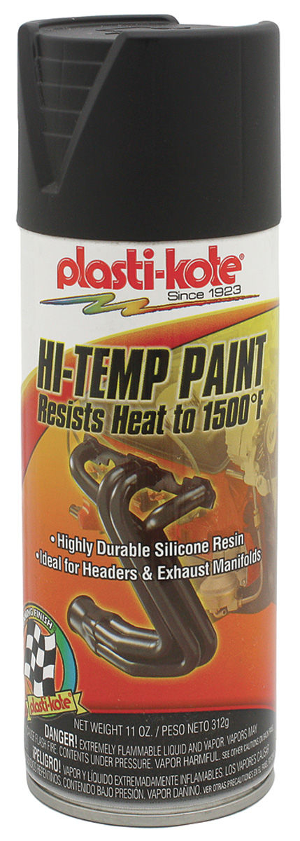 Photo of Extreme Heat Paint - Black, 11-oz.