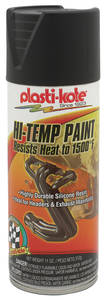 1959-77 Bonneville Extreme Heat Paint Black, 11-oz.