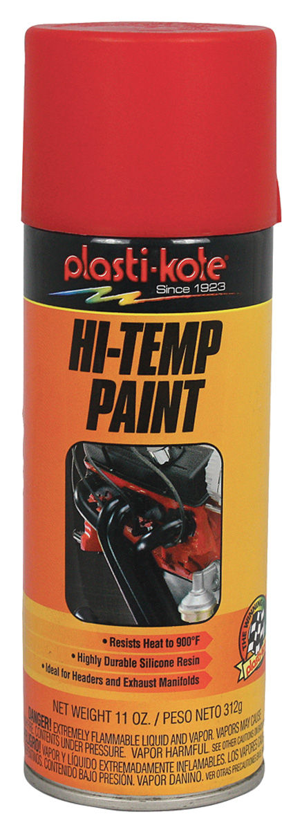 Photo of Extreme Heat Paint - Red, 11-oz.