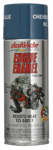 1978-88 Malibu Engine Enamel Paint, 500° Chevy Blue - 12-oz.