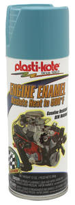 1959-65 Catalina Engine Enamel Paint, 500-Degree Pontiac Blue, 12-oz.