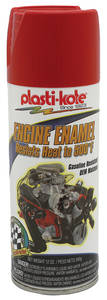 Engine Enamel Paint, 500° Red - 12-oz.