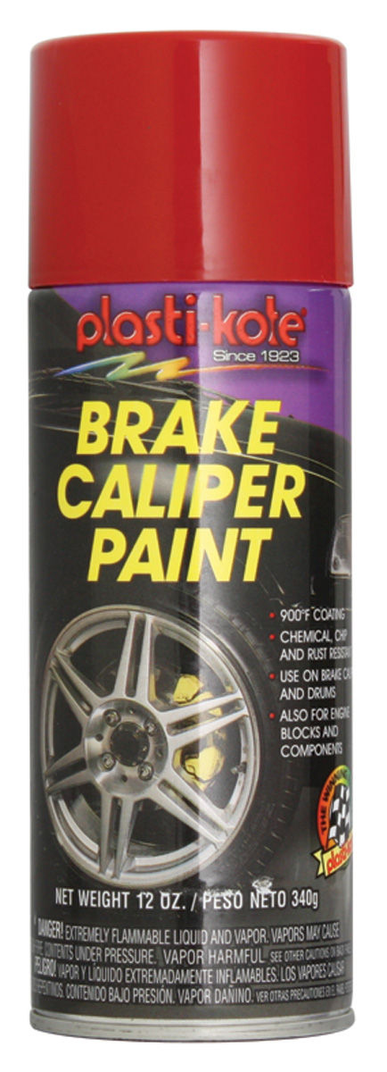 Photo of Brake Caliper High-Heat Paint - Red, 12-oz.