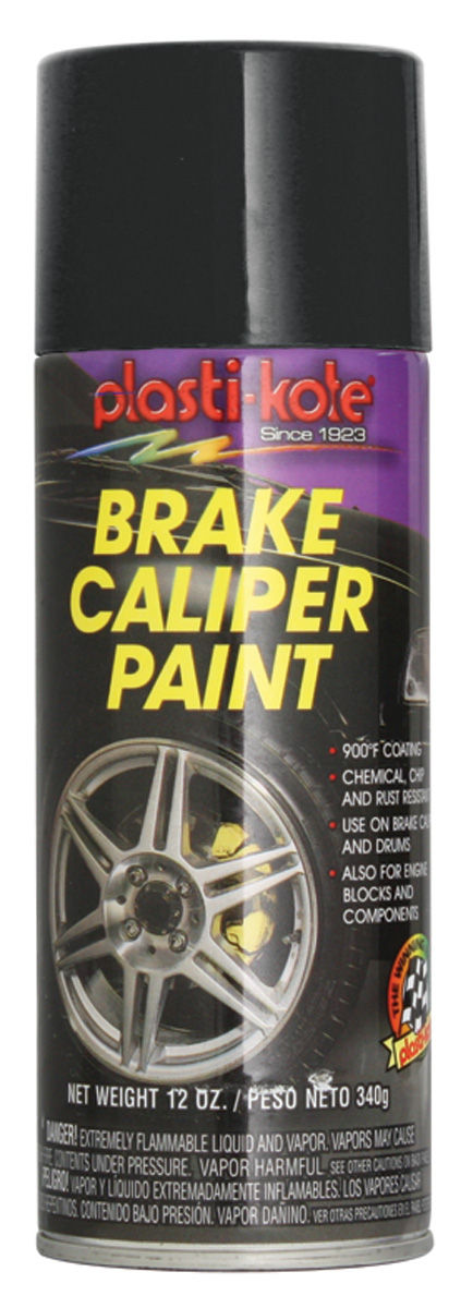 Photo of Brake Caliper High-Heat Paint black, 12-oz.