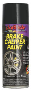 Brake Caliper High-Heat Paint Black, 12-oz.