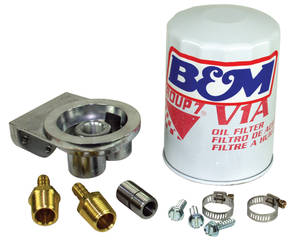 1964-1973 GTO Transmission Filter Kit (Remote Transmission), by B&M