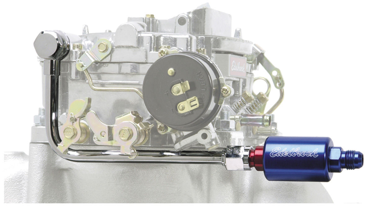 Photo of Carburetor Fuel Line & Filter Kit (Performer Series) blue/red filter