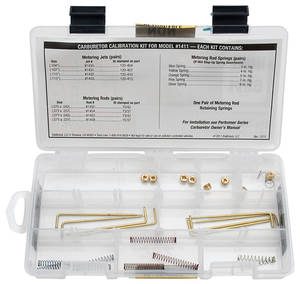 Carburetor Calibration Kit (Performer Series) For Edelbrock #1411 (OPGI #G980024)