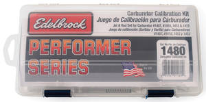 1959-1976 Catalina Carburetor Calibration Kit (Performer Series), by Edelbrock