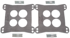 "Carburetor Heat Insulator Gasket For Square-Bore (Dual-Quad - .125"" Thick, Two-Piece)"