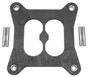 "1961-73 Tempest Carburetor Heat Insulator Gasket For Divided Square-Bore (.320"" Thick), by Edelbrock"