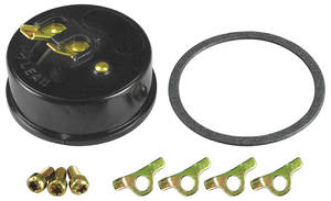 1964-1977 Chevelle Choke Cap Kit, by Edelbrock