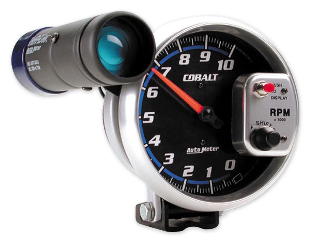 "Photo of Cobalt Gauges 5"" Shift-Lite tach (10,000 rpm)"