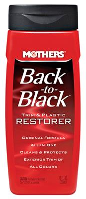 1964-1977 Chevelle Back-To-Black 12-oz., by Mothers