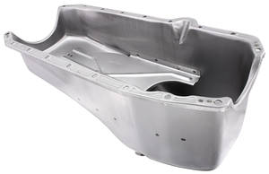 1980-1984 Monte Carlo Oil Pan, Replacement Raw 2-Piece Rear Main Seal