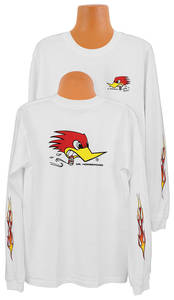 Clay Smith Kid's Long Sleeve Shirt White
