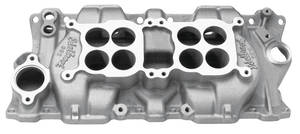 1978-1983 Malibu Manifold, C-26 Dual-Quad (1500-6500 Rpm) Polished, by Edelbrock