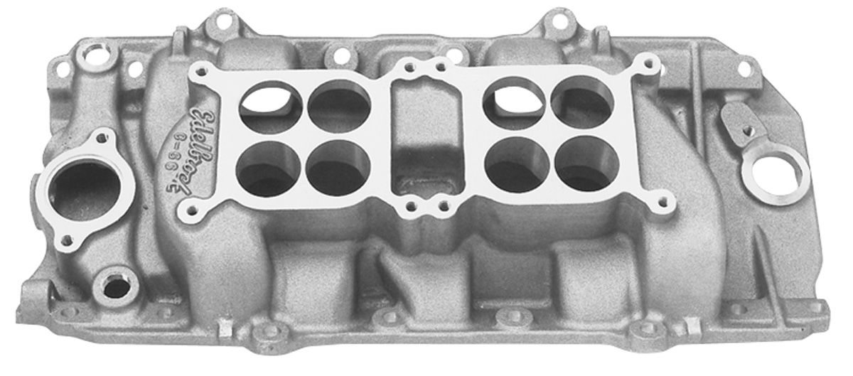 Photo of Manifold, C-66 Dual-Quad (Big-Block) C-66-O (satin)