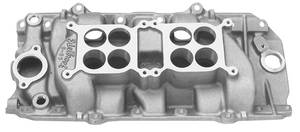 1978-1988 Monte Carlo Manifold, C-66 Dual-Quad (Big-Block) C-66-O (Polished), by Edelbrock