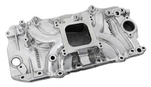 1978-88 Monte Carlo Manifold, Torker II 2-0 Big-Block Polished (Non-EGR), by Edelbrock