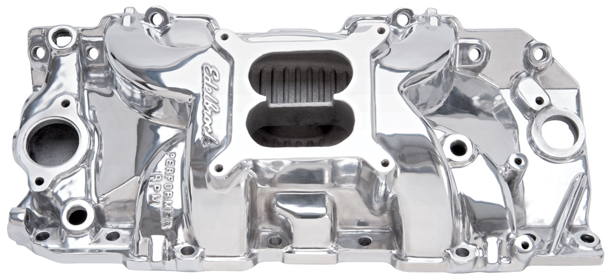 Photo of Manifold, Performer RPM 2-R Performer Manifold - polished (non-EGR)
