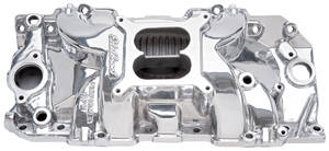 1978-88 Monte Carlo Manifold, Performer RPM 2-R Performer RPM 2-R Manifold (1500-6500 Rpm) Polished, Non-EGR