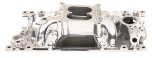 Photo of Manifold, RPM Vortec Small-Block polished, Air-Gap