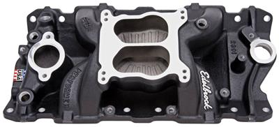 1964-77 Chevelle Intake Manifold, Performer Air Gap, by Edelbrock