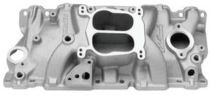 1964-77 Chevelle Intake Manifold, Small-Block Performer (EGR), by Edelbrock