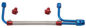 1964-77 Chevelle Fuel Line Assembly, Adjustable Dual-Feed, by Edelbrock