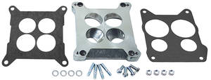 1964-1973 GTO Carburetor Adapter (Four-Hole Square-Bore To Spread-Bore), by Edelbrock