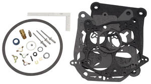 1962-1977 Grand Prix Carburetor Rebuild Kit, Quadrajet Edelbrock 1901/1902 (750 CFM)