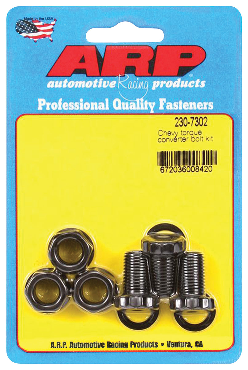 "Photo of Torque Converter Bolts 7/16""-20 aftermarket converter, .725"" UHL (3-piece)"